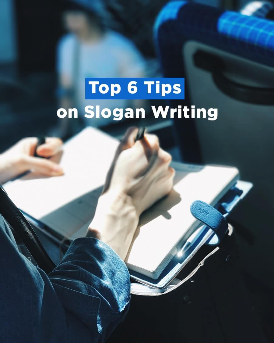 top 6 tips on slogan writing