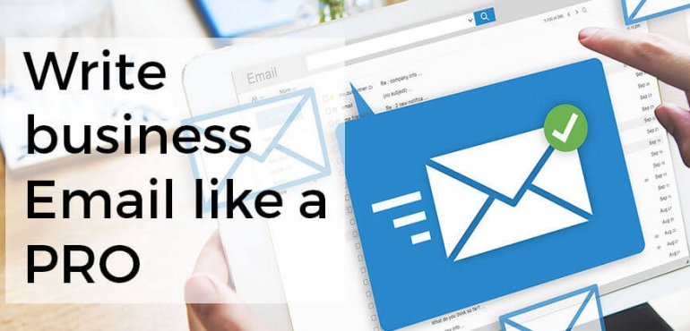 Image of preview write business Email like a PRO