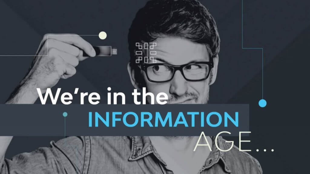 Image about information age