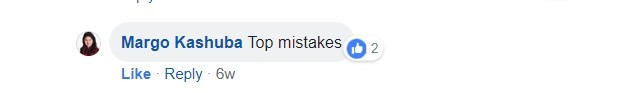 Top mistakes