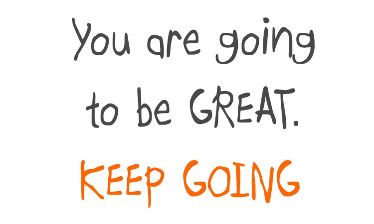 Image of You are going to be great
