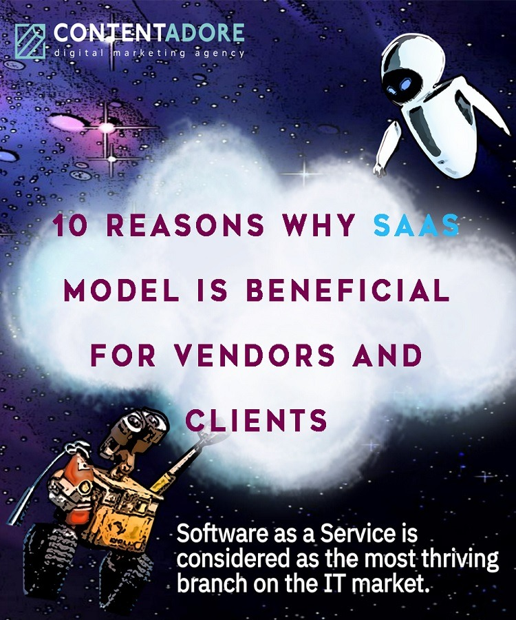 10 Reasons Why SaaS Model Is Beneficial For Vendors And Clients promo image
