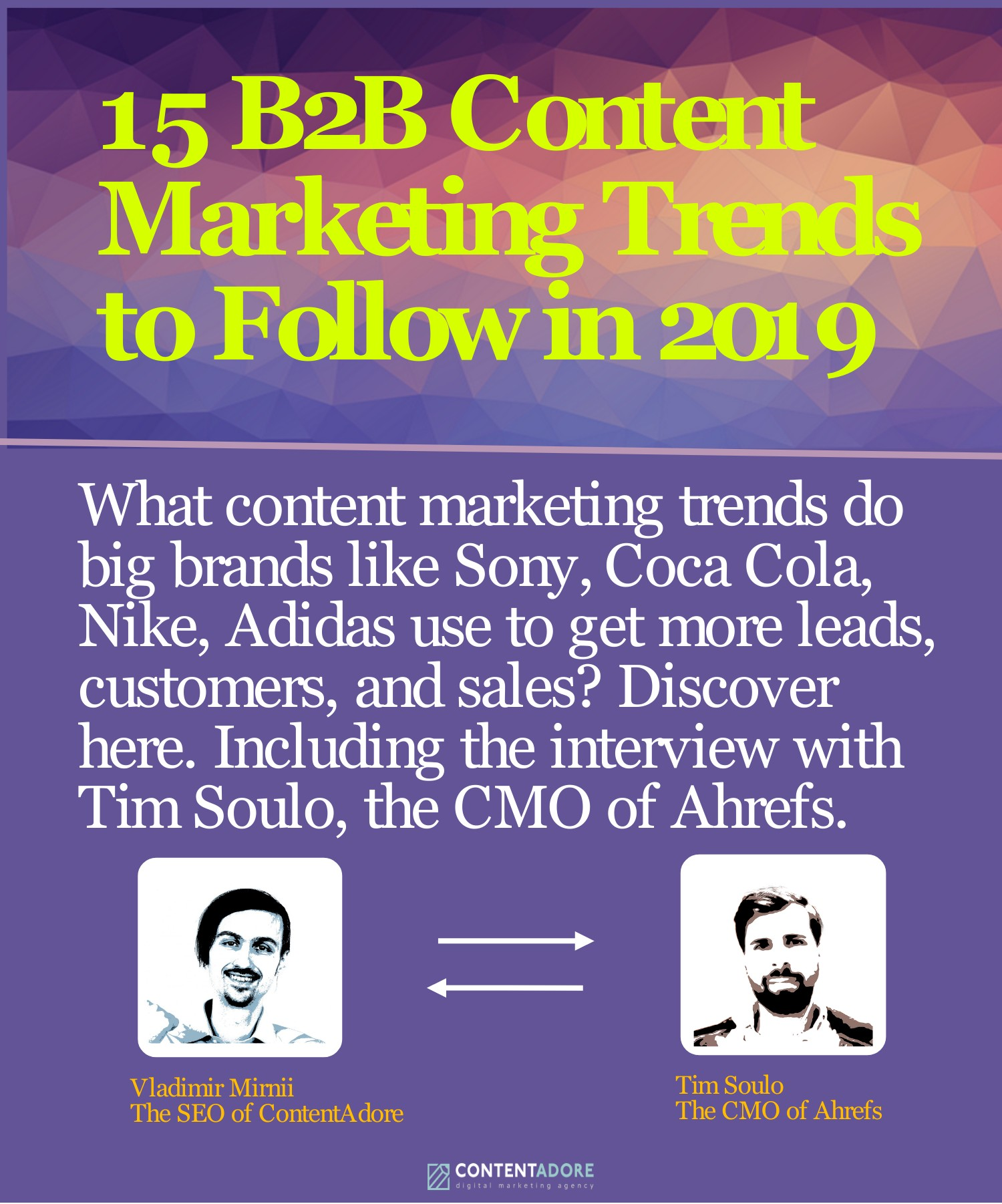 15 B2B Content Marketing 2019