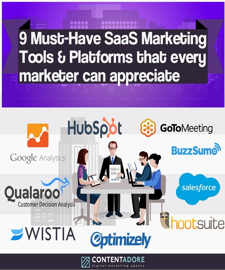 9 Must-Have SaaS Marketing Tools promo image