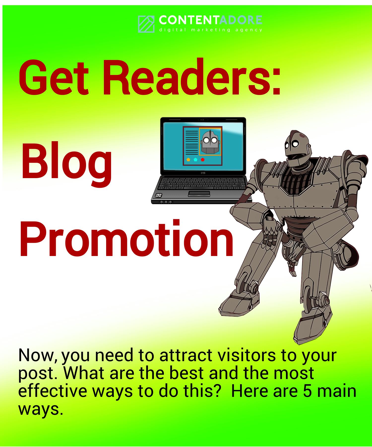 Get Readers Blog Promotion