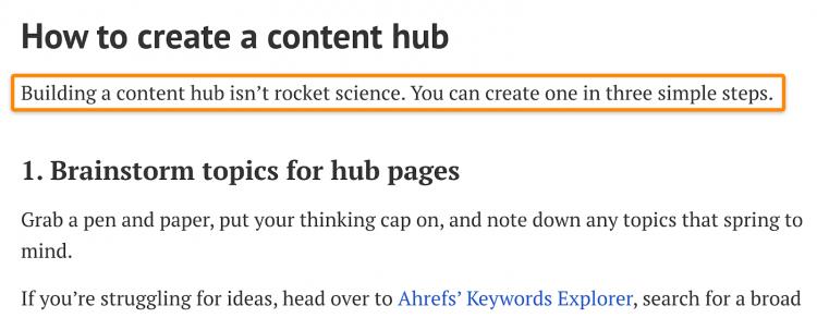как создать контент-хаб
