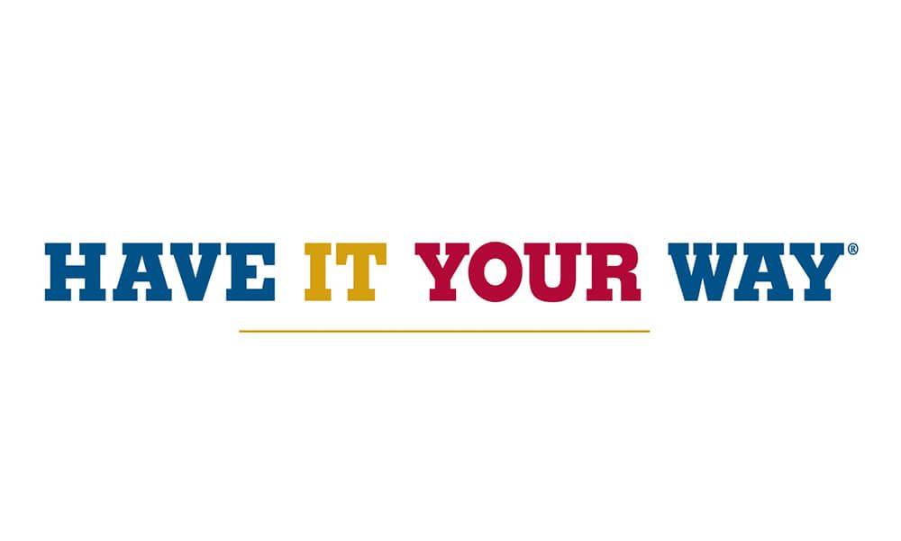 Image of Burger King slogan