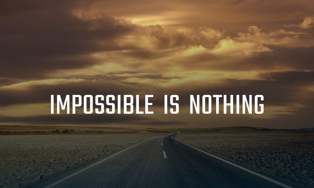 Image of Adidas slogan