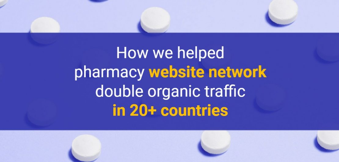 How we helped pharmacy website network
